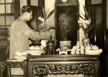 1954年的香港除夕