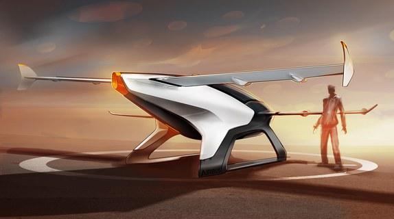 全球十大飞行概念车