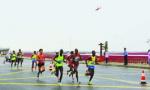 2017盘锦红海滩国际马拉松邀万名选手湿地竞跑