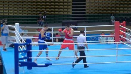 黑龙江选手夺全运会91公斤级拳击冠军