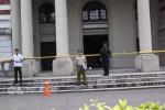 台湾一民众偷日本军刀闯蔡英文办公室,砍伤戍卫人员