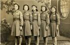 老照片:回忆新中国最早的警花