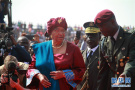 利比里亚新总统维阿宣誓就职