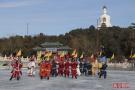 北海公园冰嬉表演周启动
