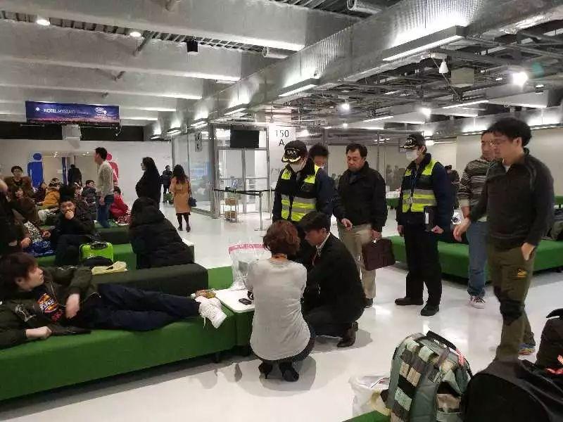 网上赌博平台网址:日本机场滞留中国游客平安归国 使馆提醒理性对待突发情况
