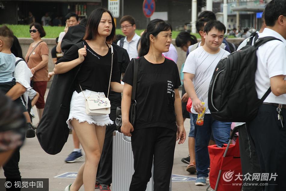 开学季:济南火车站学生返校成主流