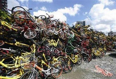 广州北京4个一线城市在内全国共有12个城市先后宣布暂停共享单车的