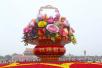 国庆天安门广场、长安街上会摆什么花坛?