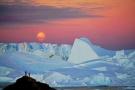 美!南极赏中秋圆月