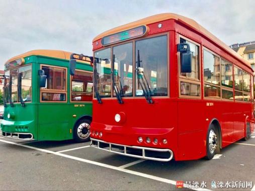 复古公交车11月下旬将亮相南京溧水街头