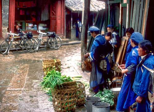1980年代商业化前丽江