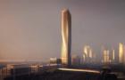迪拜建扭曲的光之高塔