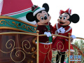 迪士尼圣诞巡游