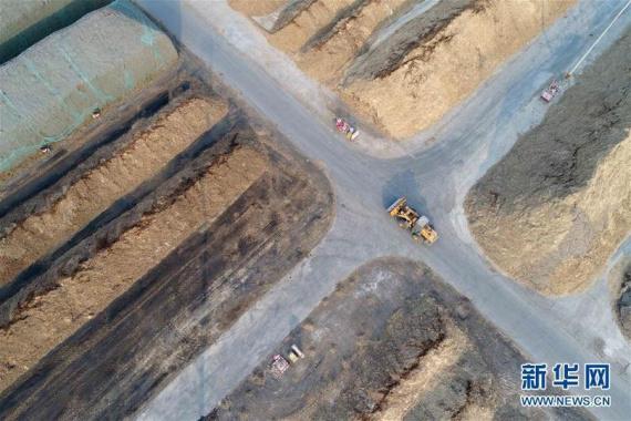 河北南宮:秸稈成寶貝 萬戶居民供暖不用煤