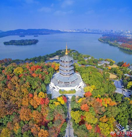 杭州迎来最美时刻