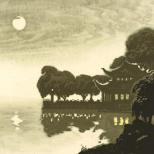 平湖秋月-(浙江博物馆收藏)