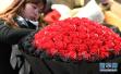 不一般的花卉市场:云南大批鲜花集中上市