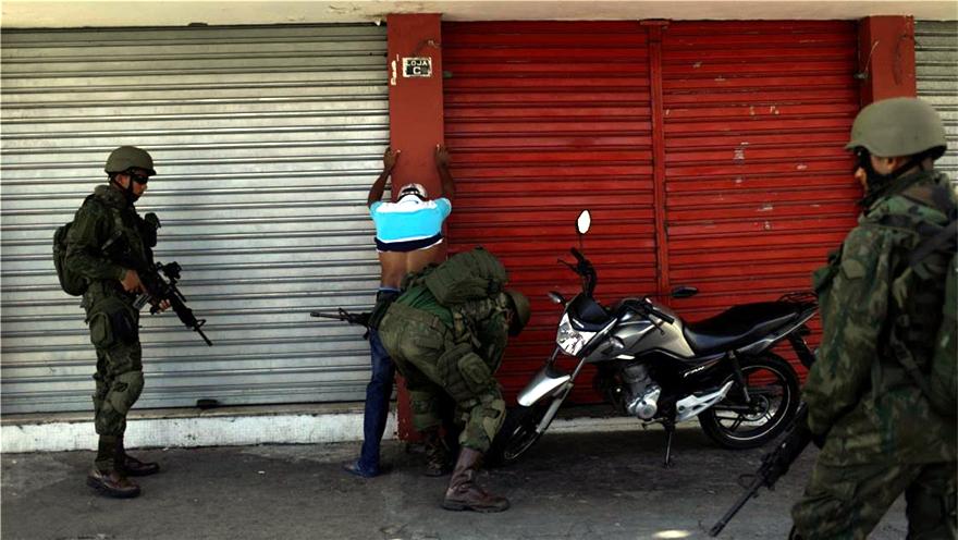 巴西 里约热内卢州犯罪问题蔓延