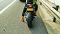 无证驾驶还冒用他人号牌 男子骑摩托上高速被拘15天