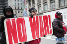美国纽约举行反战集会