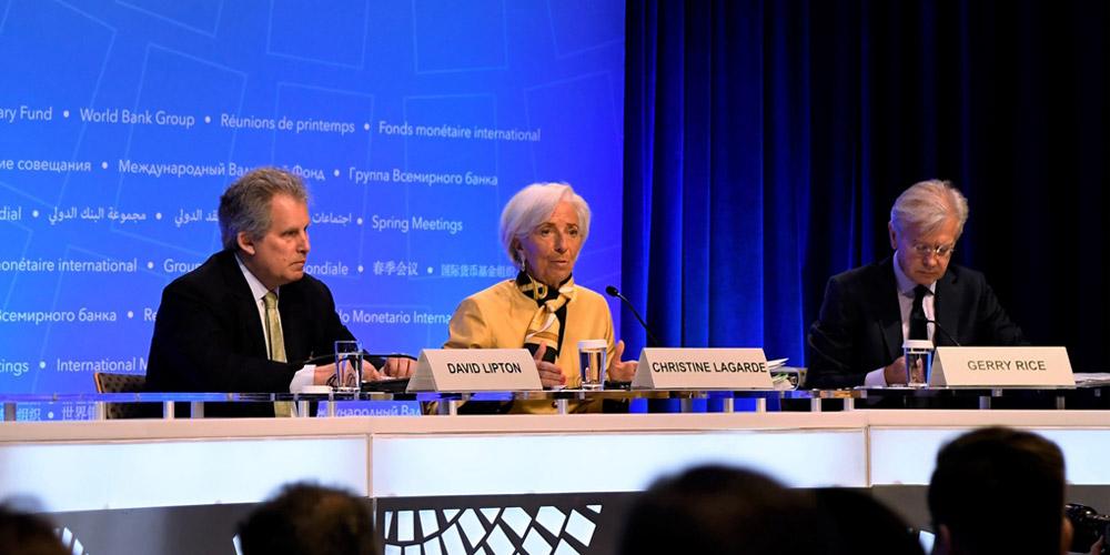 拉加德呼吁消除所有贸易保护主义措施