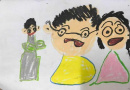 画里都诉说着孩子的心事 教你如何看懂孩子的画