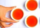 茶浑浊加热后变清亮