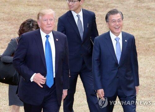 98098彩票网手机版:韩青瓦台:韩美领导人将于22日举行会谈