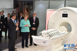 德国总理默克尔在深圳参观