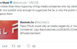 """反复""""被黑"""" 马斯克要创建媒体可信度评级网站"""