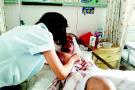 莱西单身父亲突患重病 为女儿几度想出院回家