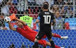 梅西失点阿圭罗破门 阿根廷1-1憾平冰岛