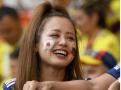 超可爱的日本女球迷
