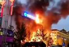 陕西一银行大楼大火