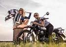 女性摩托车节