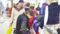 强冷空气袭来 市民忙去购衣 冬装销量大增