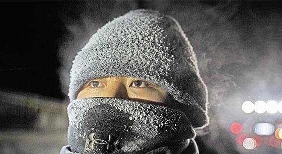 调车员的冬日坚守