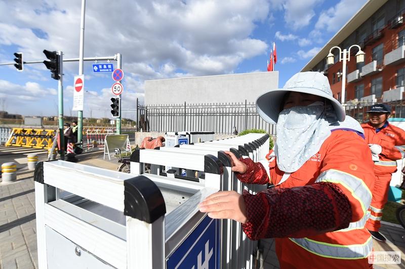 五一前夕,最美劳动者守护北京世园会