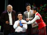 大型反腐倡廉现代戏《生日泪》许昌首演震撼观众