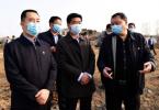 鹤壁市长郭浩调研山水林田湖草生态保护修复工程项目建设工作