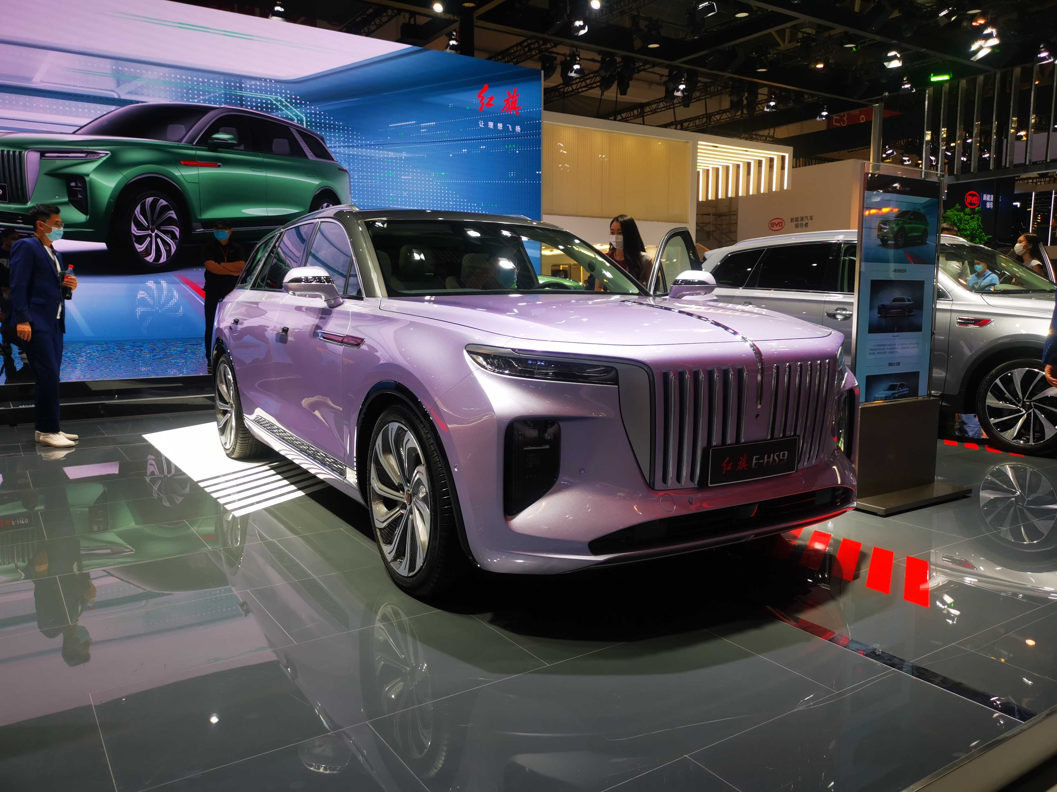 2020北京車展 紅旗E-HS9亮相