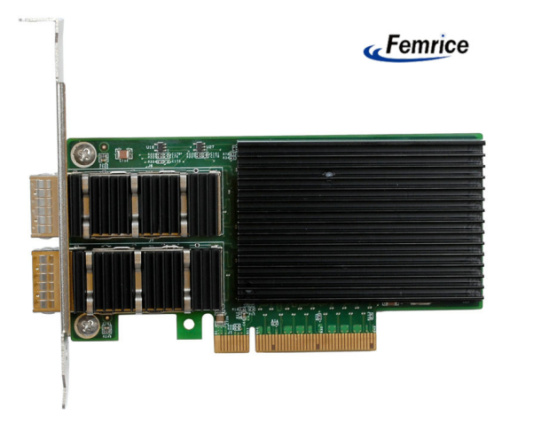 飞迈瑞克光纤网卡 坚信科技是第一生产力高清图片