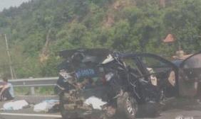 辽宁铁岭高速发生严重车祸 3名死者为老人和孩子