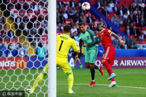 联合会杯-C罗头球破门 葡萄牙1-0战胜俄罗斯