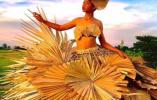 小麦竹子树叶也能做裙子?这是变性女子设计的