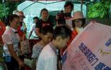 大学生文明旅游背包客走进湖南石门感受生态文化