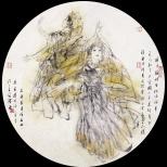 黄泽森绘画作品