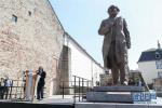 中国赠送马克思雕像在德国特里尔揭幕