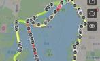 百公里用时13小时15分:杭州一跑友沿着西湖跑了一个通宵