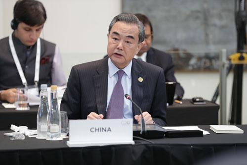我中彩票大奖真实经历:王毅:G20有责任为发展中国家提供更多机遇和支持